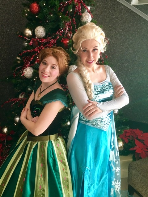 Frozen Party Characters Vancouver