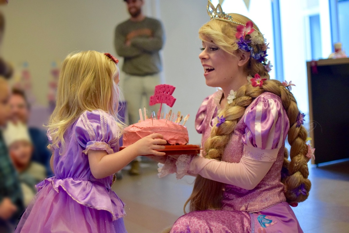 Rent a Princess Rapunzel in Vancouver Birthday Party Character Entertainers