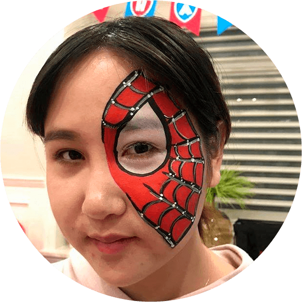 Spiderman Face Painting Services