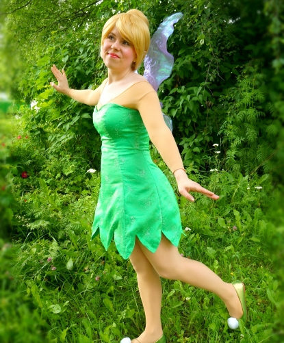Tinkerbell Entertainer for Parties Vancouver