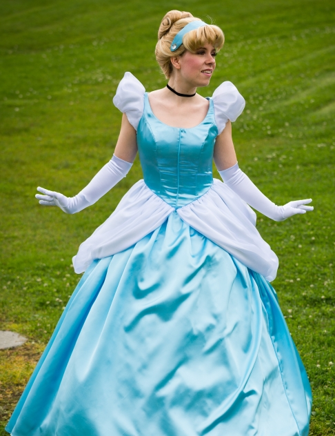 Birthday Party Characters in Vancouver - Glass Slipper Princess