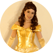 Princess Belle from Beauty and the Beast Hire Princess for Party in Vancouver