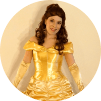 Princess Belle from Beauty and the Beast Rent a Princess in Vancouver