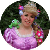 Rapunzel Princess Comes to Kids Birthday Parties in Vancouver