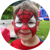 Spiderman Face Painting Vancouver Facepainter Services for Boys Birthday Party