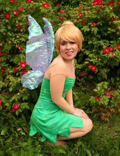 Tinker Fairy Entertainer Vancouver Fairy Characters for Parties