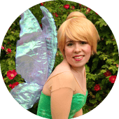 Tinkerbell Fairy Entertainer Hire a Fairy Vancouver Birthday Characters